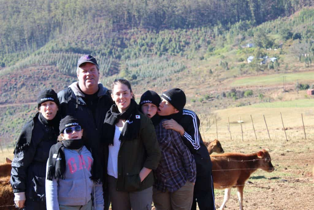 Our family at Bulembu in Swaziland