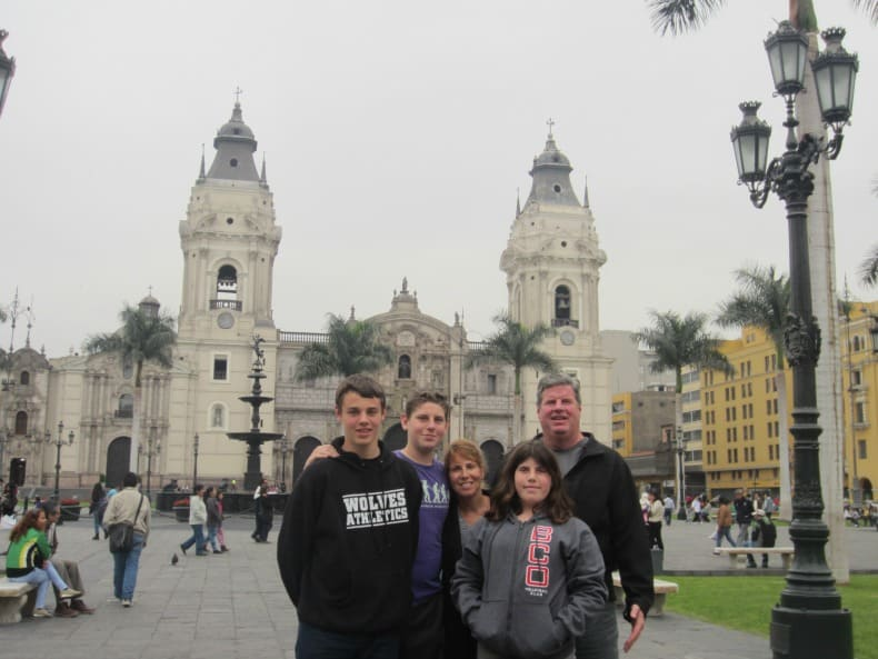Visiting Lima before heading to Machu Picchu.