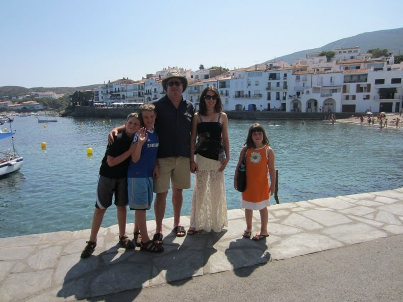 Exploring Portillgat, Spain where Dali lived is a great way to engage a family with children of all ages.