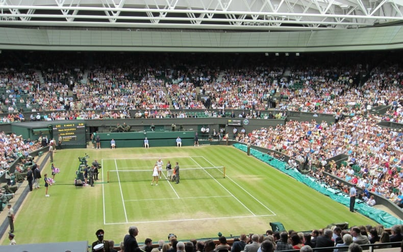 wimbledon live and wembley stadium