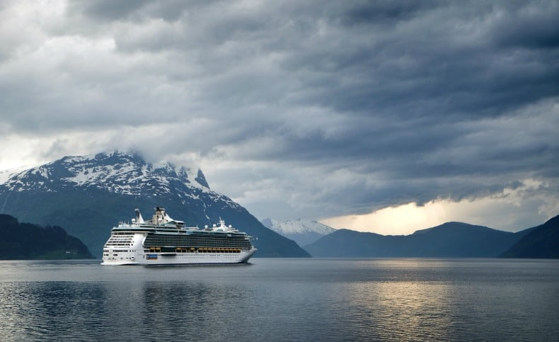 A cruise ship holiday allows you to visit a region without committing to several days in any one place.