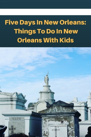 New Orleans is an exciting place to visit with kids. It has amazing restaurants, culture and history | Bourbon Street, Cafe Beignet, Elizabeths, French Quarter, Galatroise, Honey Island Swamp, Marcellos,, National WWII Muesum, New Orleans, New Orleans Legendary Walking tour, Oak Alley Plantation, Oceania Grill, Pearl River EcoTtours, Pelican Club, St. Louis Cemetery, travel with kids, travel with teens, White Kitchen Nature Preserve
