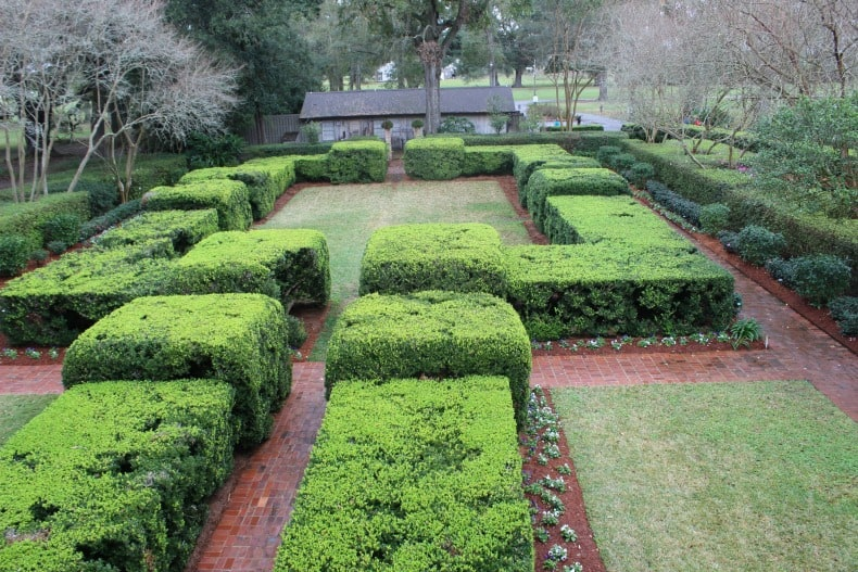 Oak Alley Plantation outside New Orleans