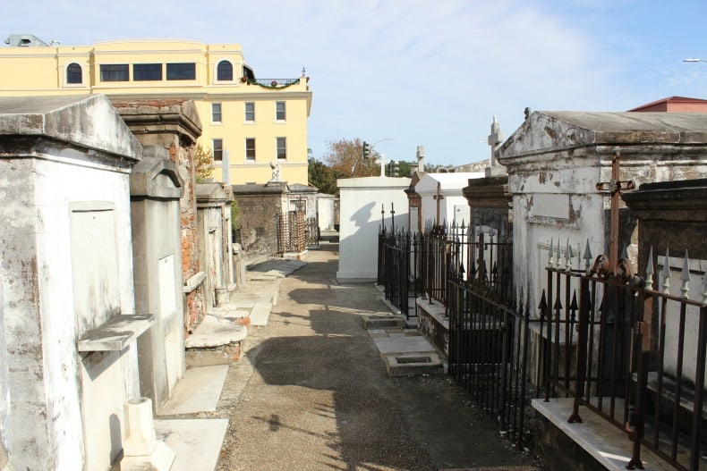 St Louise Cemetery in New Orleans