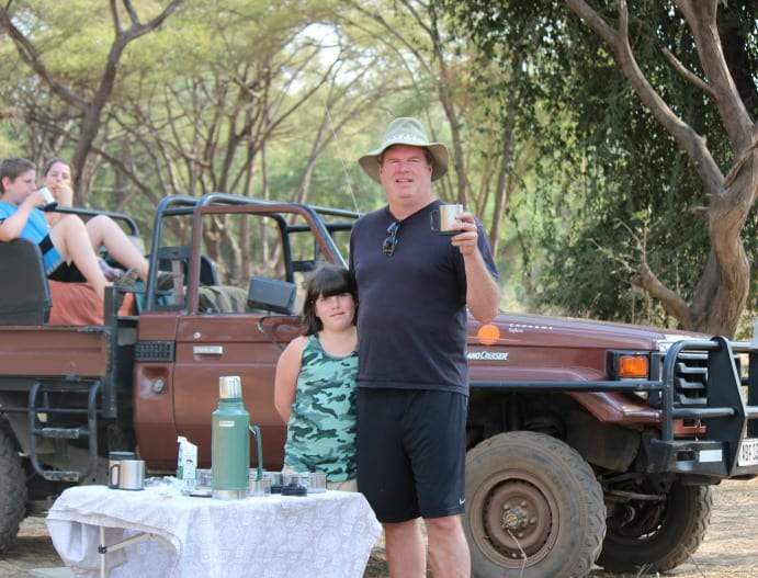Jeep safari from the Chongwe River House