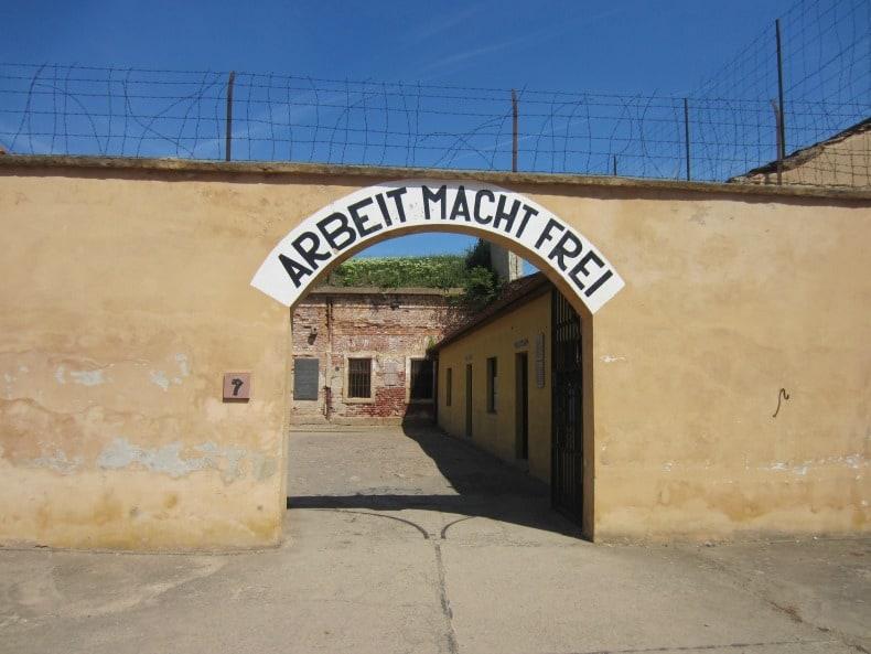 terezin concentration camp outside prague