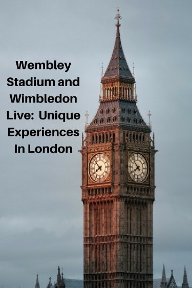 Going to Wembley Stadium or watching tennis at Wimbledon are activities that you should try to see when in London