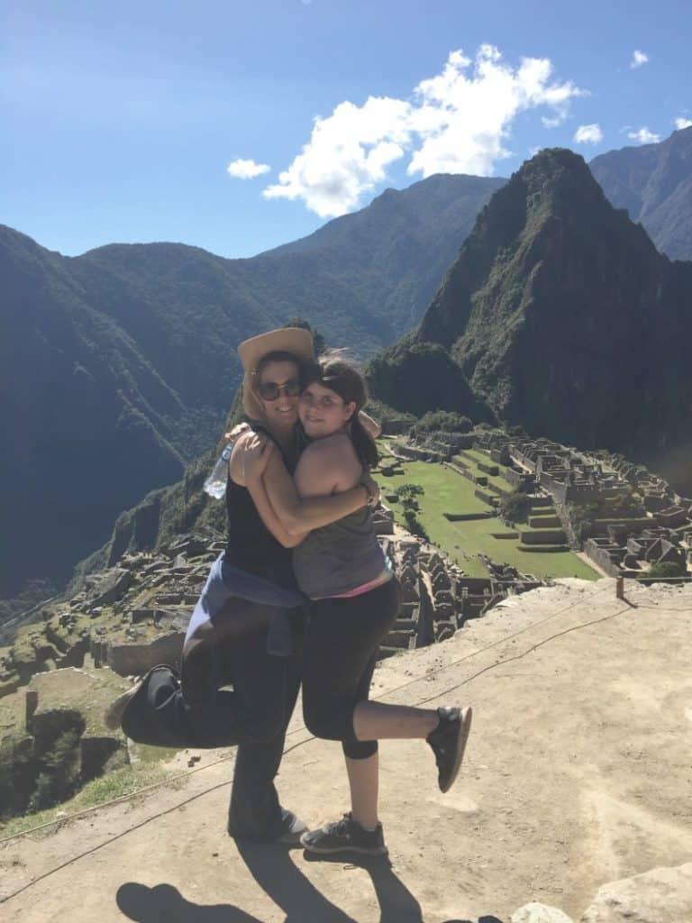 Exploring Machu Picchu in Peru