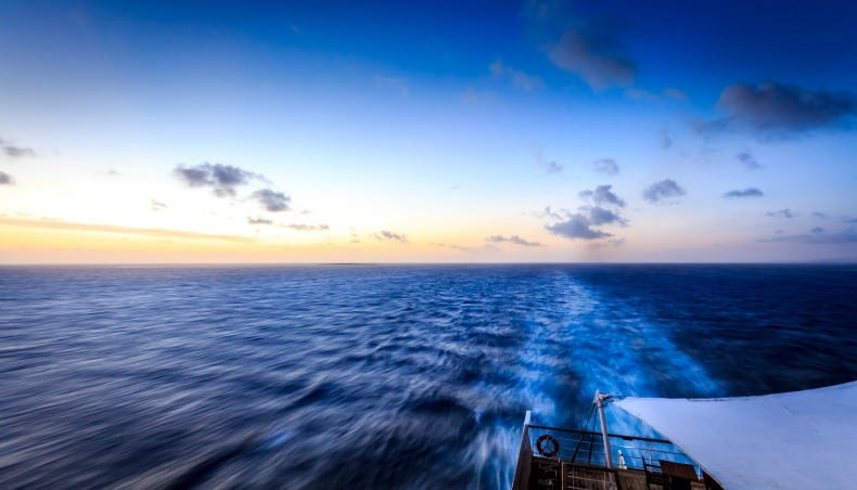 the view from a cruise ship room
