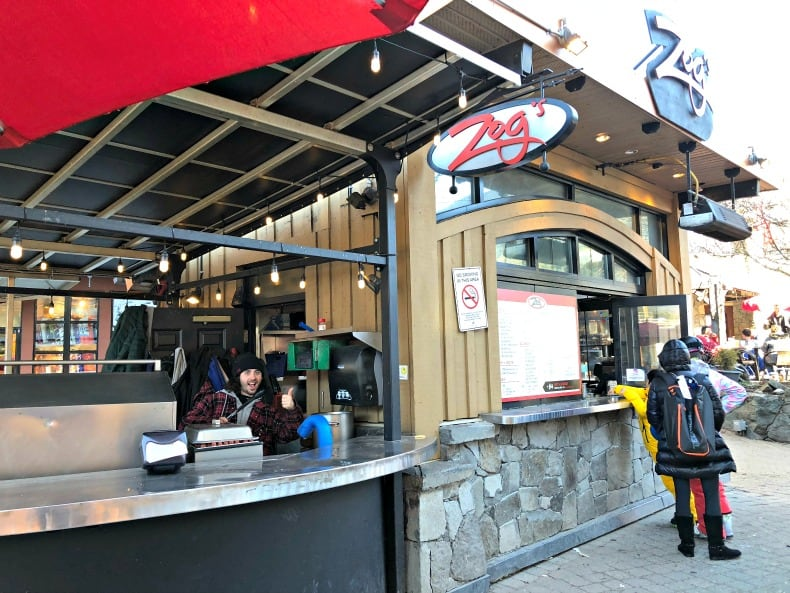 Zog's, one of the Whistler restaurants