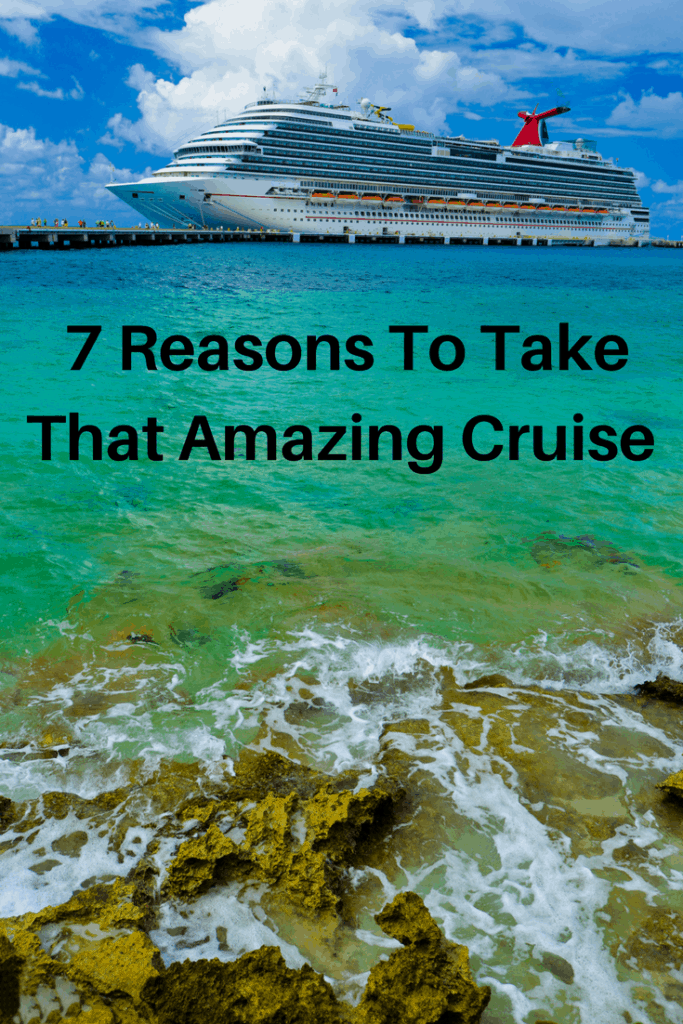 There are seven main reasons to take a cruise ship holiday. Is it the right type of holiday for you, your partner or your family? Find out here! |amenities, Baltic, Celebrity Cruise, children, children's programs, cruise, Holland America, hot tub, independence, living out of a suitcase, Mediterranean, multi-generational travel, ping pong, pool, Princess, reasons to cruise, restaurants, Royal Caribbean, teen programs, teenagers, travel tips, travel with friends, unpack |