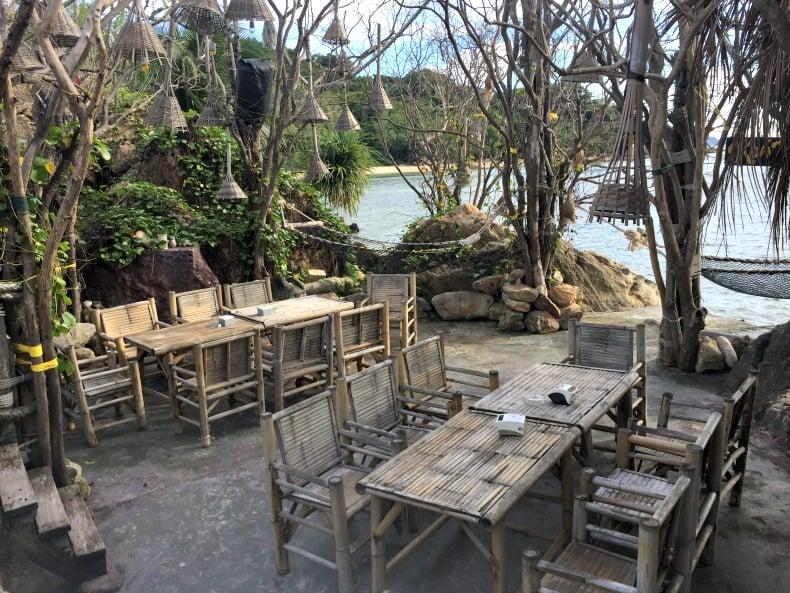 Koh Raham Restaurant and Bar on Koh Phangan