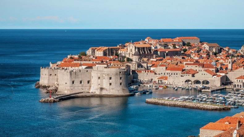 Dubrovnik is right there after disembarking from the cruise ship on cruise holidays