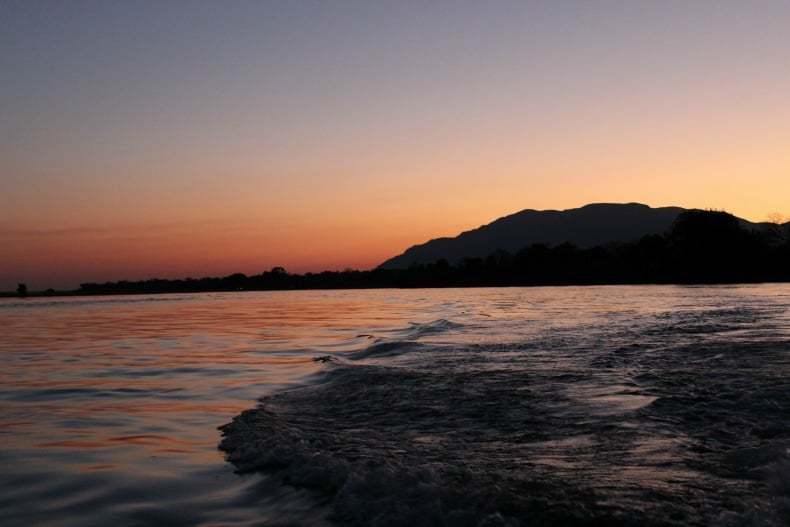 Sunset Cruise from the Chongwe River House
