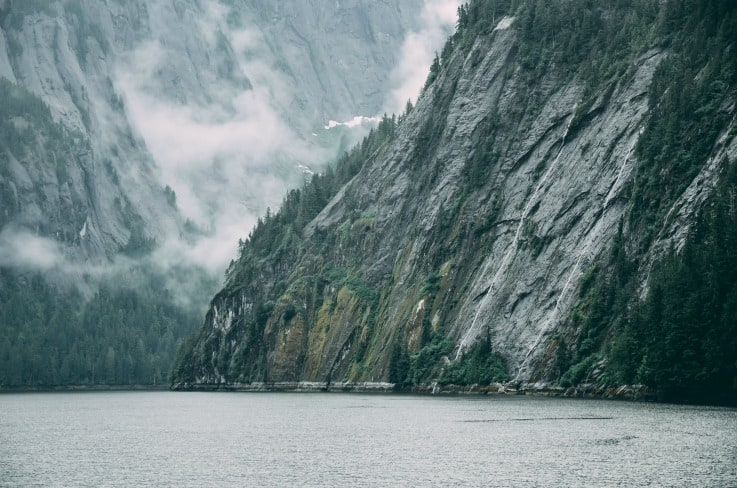 Beautiful scenery found on an Alaskan cruises from the Port of Vancouver
