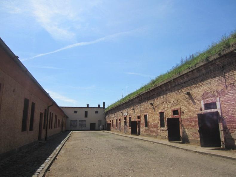 Terezin Prison outside prague
