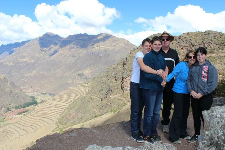 Exploring Pisac Ruins in the Sacred Valley, Peru