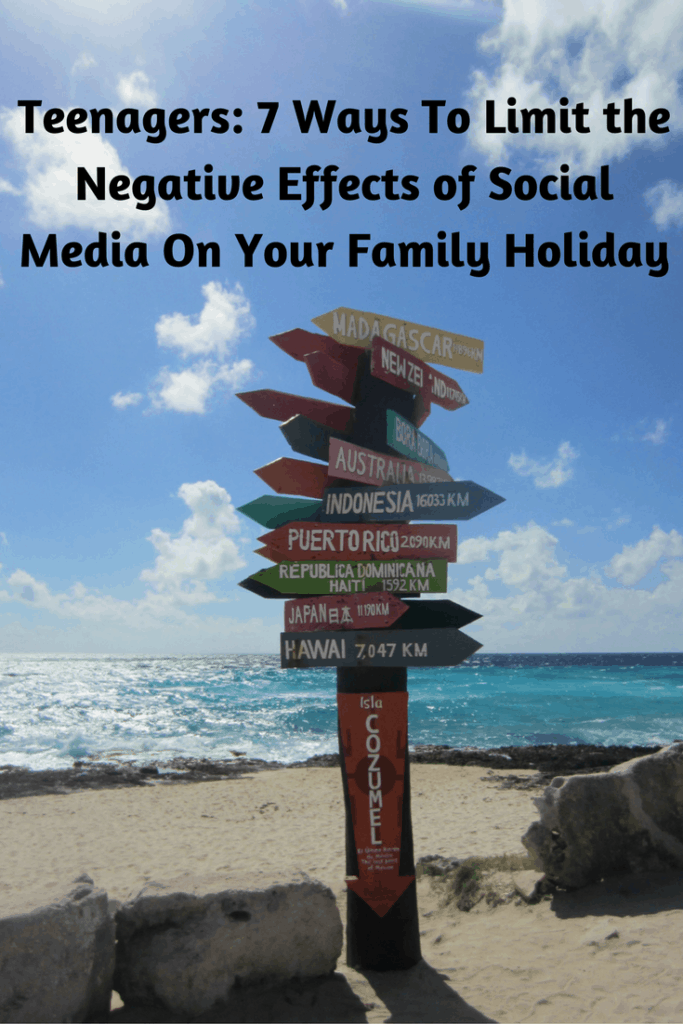 Your family vacation is a great time to reconnect with your children. However, it is difficult to do so when they are glued to their phones, social media apps and their friends back home. In order to have a successful holiday, you need to have strategies in place to limit your child's access to these distractions while keeping everyone happy. Here are strategies that I use that have been successful.