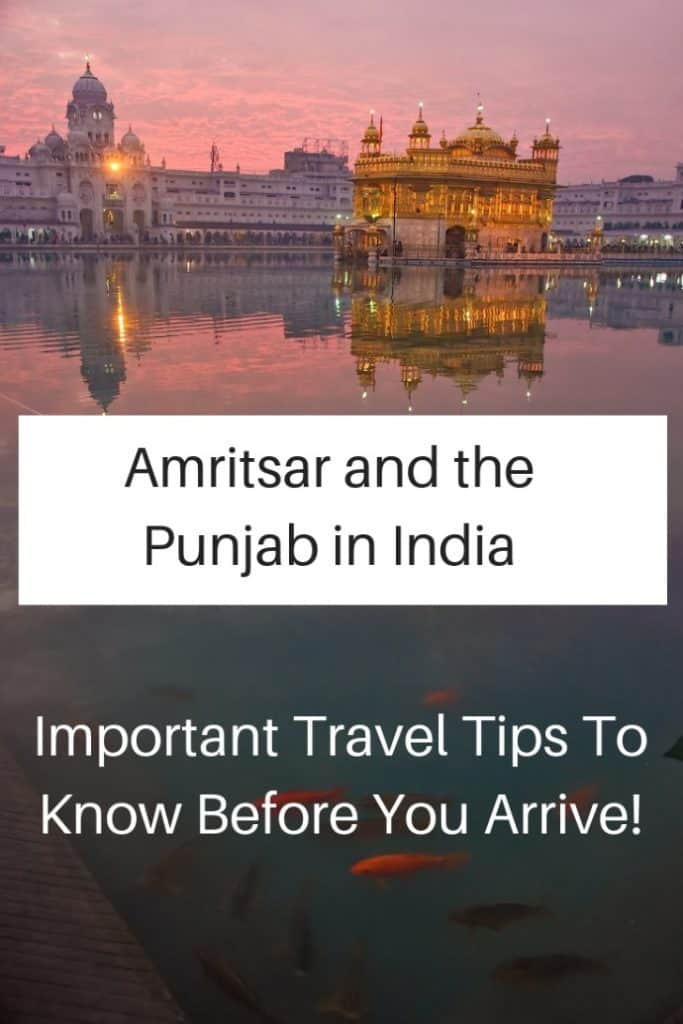 Very Important travel tips that you should know before you travel in Amritsar and the Punjab in India. #travel #familytravel #travelwithkids #travelwithteens #India  | Amritsar sightseeing, dress conservatively, family, Golden Temple, Jalianwala Bagh, photography, schedule, Sikh, stare, Wagah border
