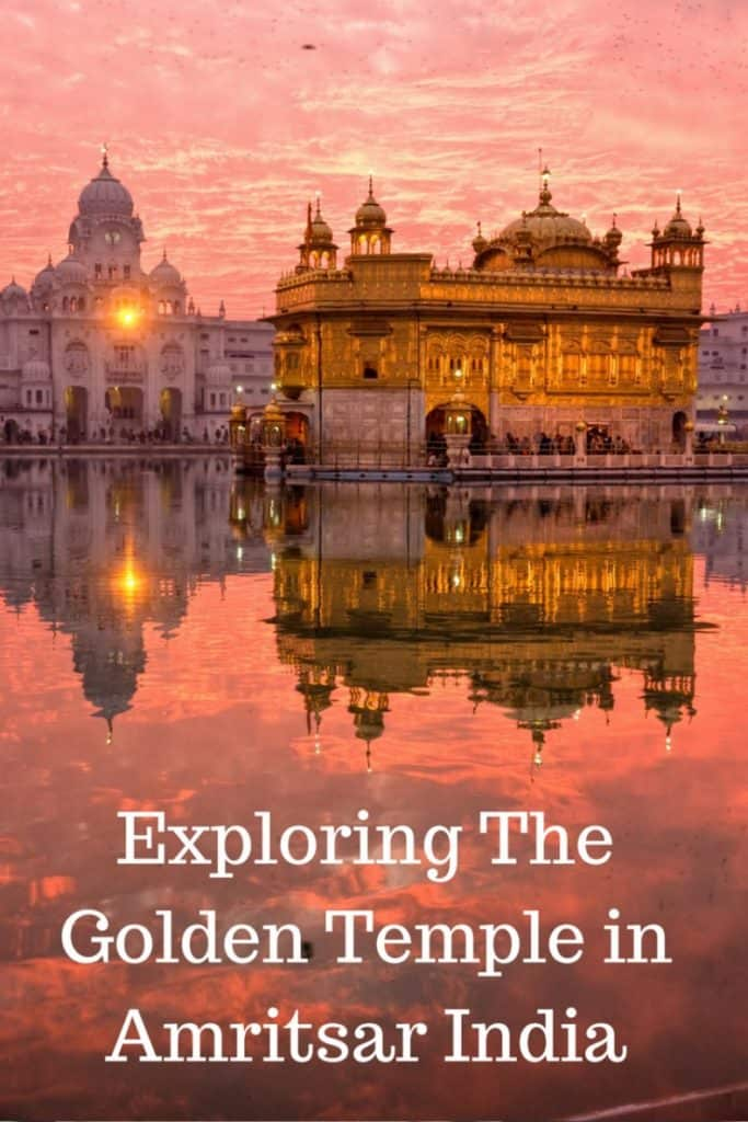 Come with me while we explore the beautiful Golden Temple in Amritsar, India. With stunning photographs, I highlight my families experiences there, including volunteering in the kitchen which serves over 50,000 free meals a day, 24 hours a day, 365 days a year to anyone. | Golden Temple, Amritsar, India, Northern India, Punjab, Sikhs, Sikhism, langar, Volunteer, kids, children, teenagers, teens, families, tourist, religious celebration, pilgrimage