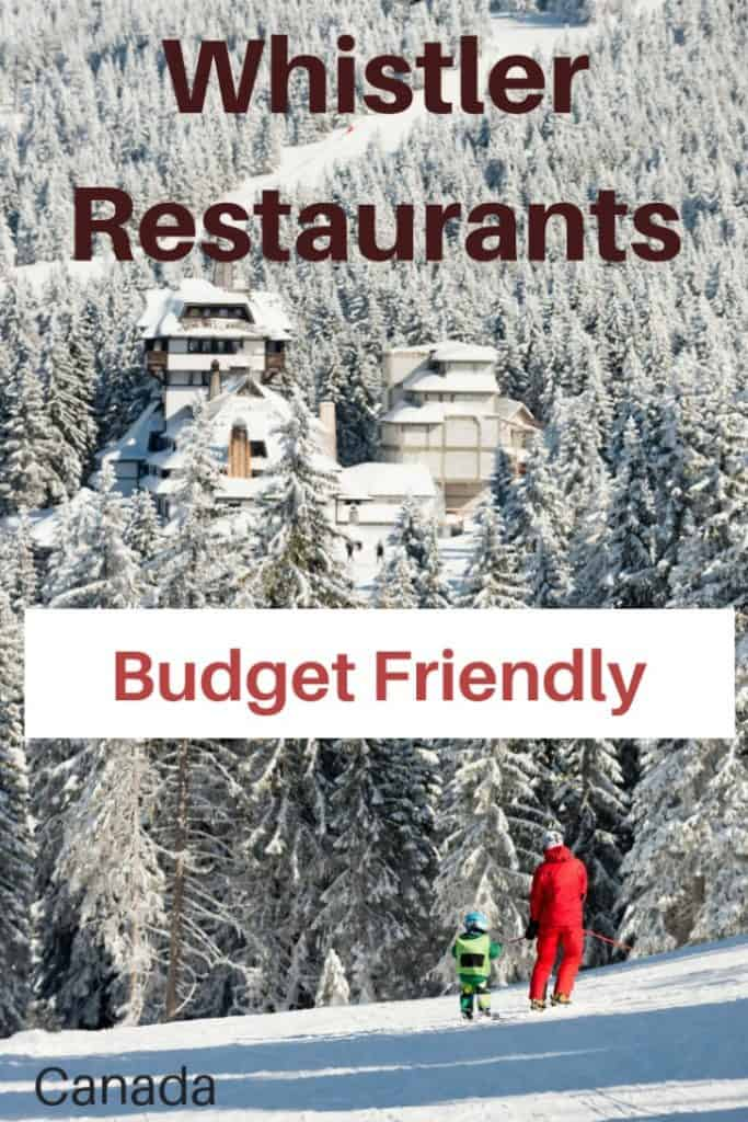 Whistler is a beautiful resort town. But, It can be an expensive place to visit. Here are 8 budget friendly yet delicious Whistler restaurants. #travel #budget #familytravel #whistler | British Columbia, Avalanche Pizza, El Furniture Warehouse, expensive, Gone Eatery, IGA, La Cantina, lift tickets, Pasta Lupino, Shred Salad Bar, skiing, Vancouver, Whistler, Blackcomb, Whistler restaurants, Whistler Village, Zog's