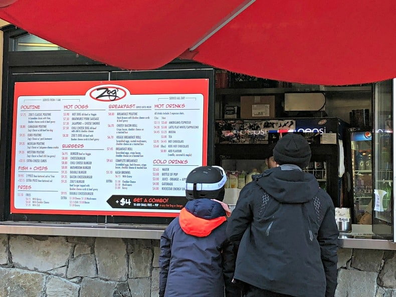 Whistler Village restaurants