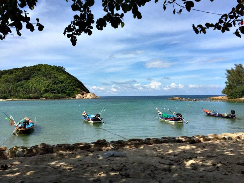 Mae Haad Beach on Koh Phangan