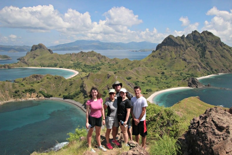 Padar Island in Komodo National Park, Indonesian Adventure