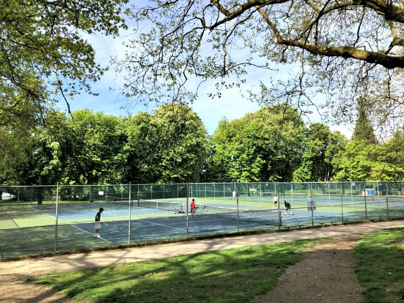 Tennis at Stanley Park