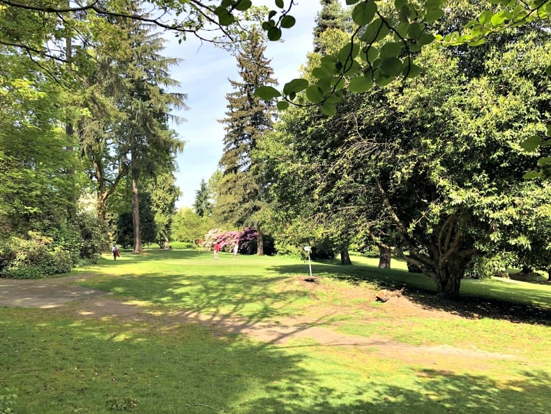 Pitch and Putt course at Stanley Park