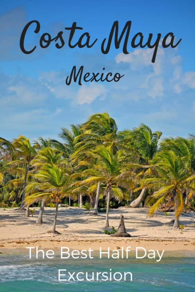 We took a Caribbean cruise and spent some time in Costa Maya in Mexico. We did a private half day snorkelling trip off of Mahahual Beach near the port. It was fantastic. Here's why. #travel #familytravel #Mexico #cruise