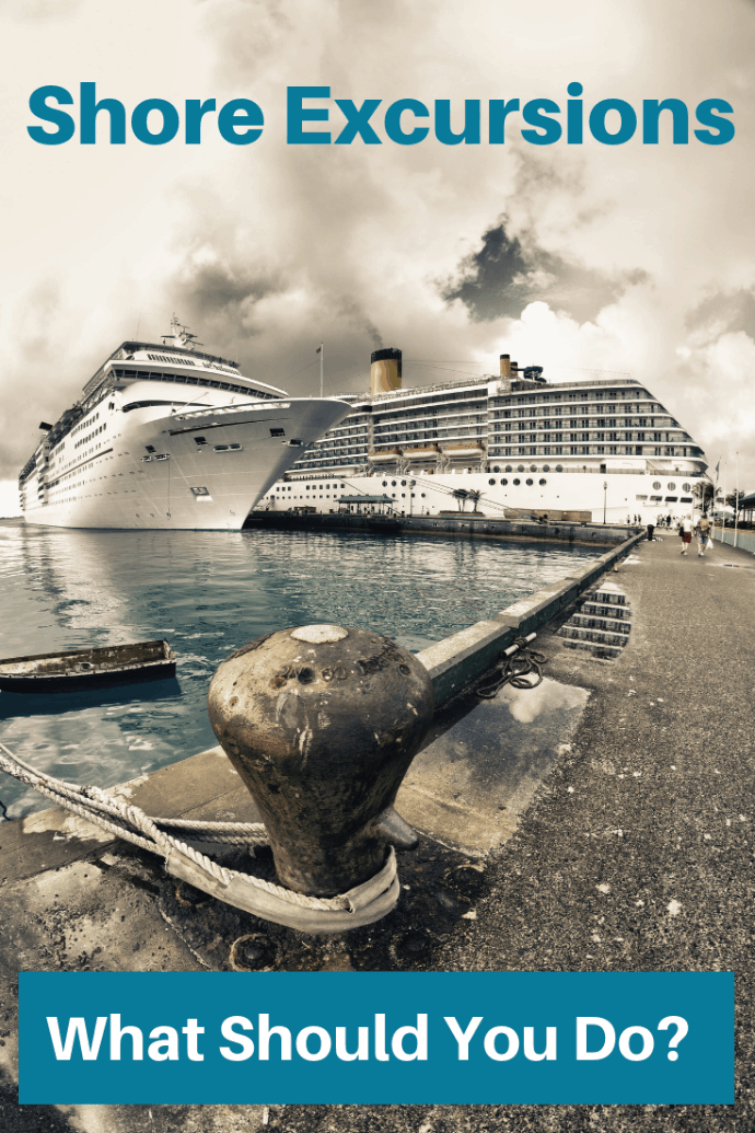 When you reach ports on your cruise, you have five choices about how you are going to spend your time. Will you take cruise sponsored shore excursions, book your own shore excursions, or something else? Which fits you and your family the best? #travel #familytravel #cruising | caribbean, cruise ships, cruise sponsored, cruises, Europe, local tour operator, port, tours|