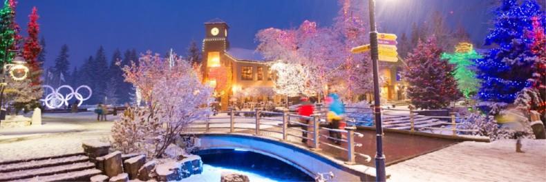 Whistler winter.
