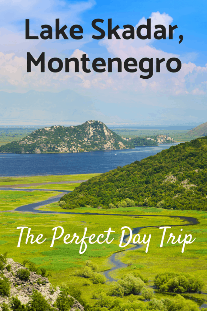 Lake Skadar in Montenegro is the largest lake in Southern Europe. It is found within Lake Skadar National Park, surrounded by majestic mountains and is spectacularly beautiful. We took a day trip there from Kotor and fell in love with this untouched paradise. Here's why. #travel #familytravel #NationalPark #Europe #Montenegro | Budva, Cetinje, Hotel Vardar, Kormoran, Kotor, Bay of Kotor, Mount Lovcen, Njegusi, Virpazar|