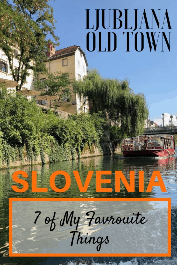 Ljubljana Old Town is a beautiful historic part of Ljubljana, Slovenia that is filled with history, culture, and fantastic restaurants and bars. We loved exploring the pedestrian zone and uncovering all of its secrets. Here are 7 of my favourites. |I#travel #familytravel #Balkans #Europe Adriatic, Castle, Dragon, Lake Bled, Lesar Hotel Angel, Ljubljana, Ljubljanica River, Metelkova, pedestrian zone, Postojna Cave, Predjama Castle, Rog factory, Slovenia, street art, Vintners Gorge
