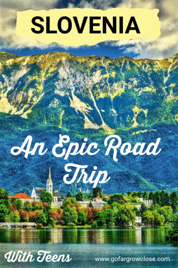We had one day to explore Lake Bled, Vintgar Gorge, Predjama Castle and Postojna Cave during our time in Slovenia. We booked a car and driver/guide and spent an amazing day exploring the countryside of Slovenia and these extraordinary sights. #travel #familytravel #Europe #Slovenia #Lakebled #gofargrowclose |