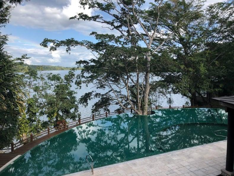 Lake Peten Guatemala