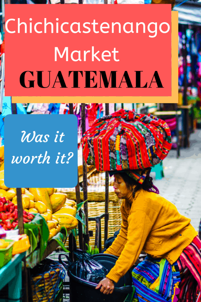 Chichicastenango market is the largest market in Central America. It sells important day-to-day goods to the locals, but also has beautiful Maya handicrafts. If you love shopping, you will love this market. Even if you don't like shopping, there are lots of reasons why you should include this town in your Guatemalan itinerary. #travel #familytravel #Guatemala |Antigua, cemetery, Central America, Lake Atitlan, Lake Peten, Maya, Panachajel, Santo Tomas, Sin Fronteras, street market, Tikal
