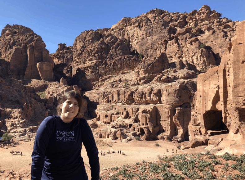 Petra half day tour.
