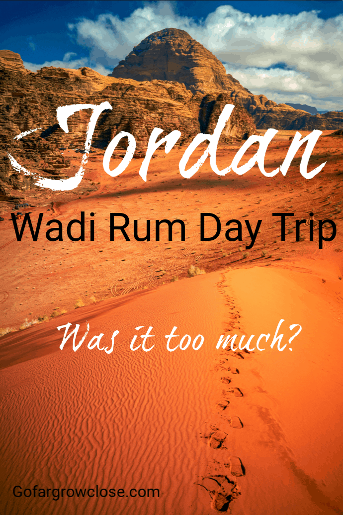 We started our day on a half day tour of Petra, then drove to Wadi Rum for a three hour desert sunset jeep tour, followed by a star gazing adventure. Was this too much to do in one day or was this an amazing epic adventure? #travel #familytravel #Jordan #roadtrip | Bedouin, camels, jeep tour, Lawrence of Arabia, New Seven Wonders, petroglyphs, Space Village, sunset, Wadi Musa