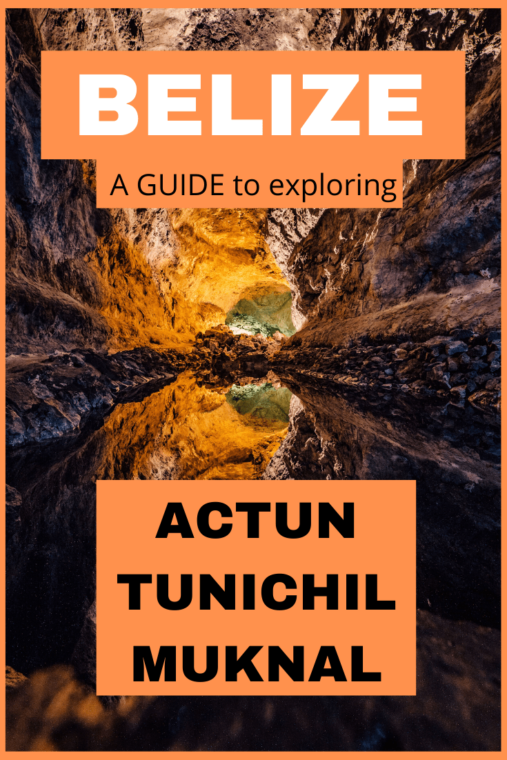 Actun Tunichil Muknal is a cave deep within the jungle of Belize. It is a living museum, filled with Maya artifacts and ceremonial tools and pottery. There are also skeleton remains of human sacrifices. Here is everything you need to know to explore it. #travel #adventuretravel; destinations in central america, central america guide, central america travel, Placencia, stalagmites, stalactites, National Geographic most sacred cave in the world.